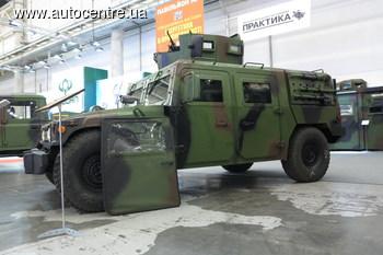 Презентован украинский броне-Hummer