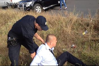 Патрульная полиция задержала депутата-дебошира (+ Видео)