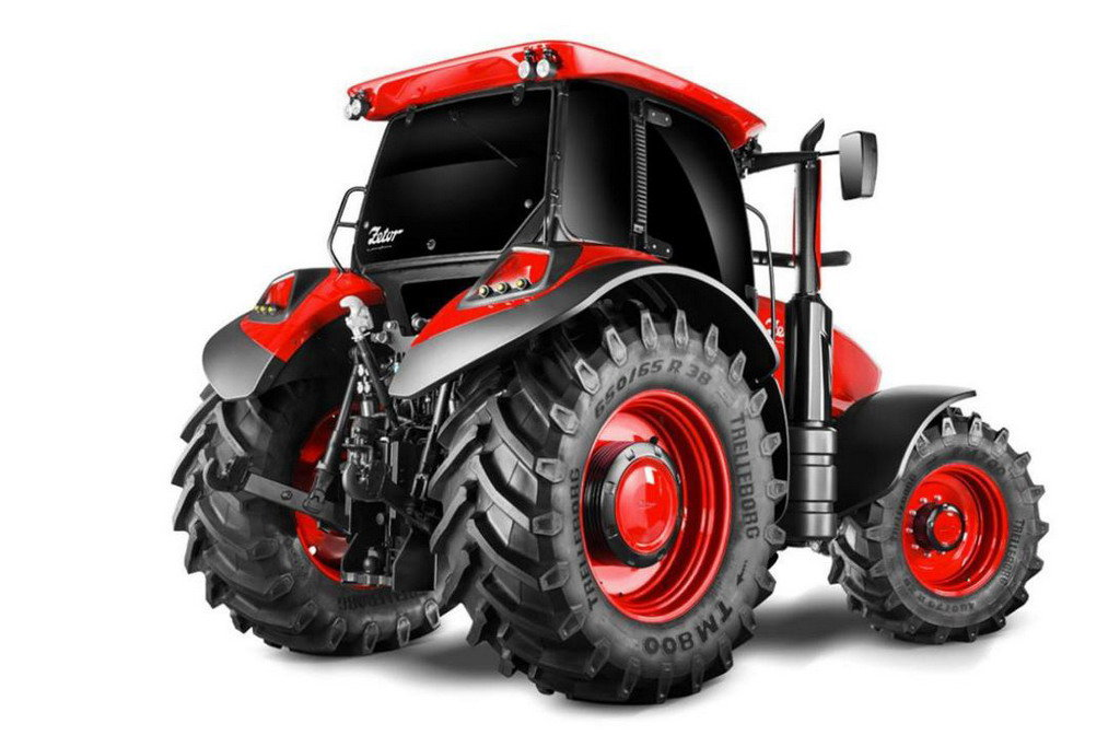 Pininfarina cоздала секси-трактор