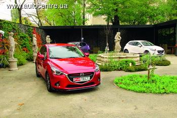 Тест-драйв Mazda2: стильная красотка