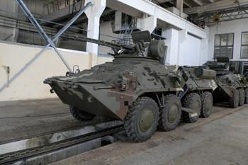 Украинские БТР получат турецко-польские комплектующие