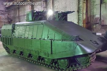Аваков презентовал новый танк «Азовец» (+ВИДЕО)