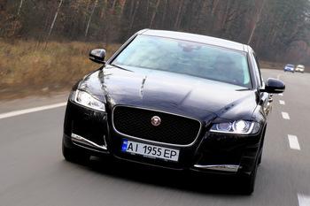 Тест-драйв Jaguar XF: благородных кровей