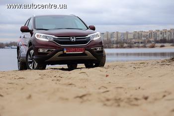 Тест-драйв обновленного Honda CR-V: агрессивней и прогрессивней