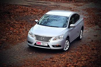 Тест-драйв Nissan Sentra: и снова здравствуйте!