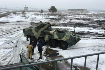 Украинские БТРы получили двигатели стандарта НАТО