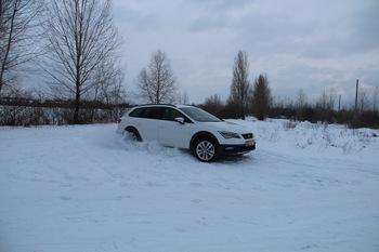 Тест-драйв Seat Leon X-Perience: зимний эксклюзив
