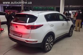 Kia Sportage презентован в Украине