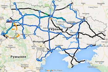 В Украине появится интерактивная карта состояния дорог