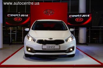 В Украине стартовали продажи обновленного Kia cee'd