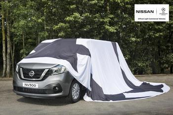 Nissan покажет новый фургон NV300 на Лиги Чемпионов
