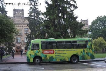 Журналисты проехались на первом украинском электробусе (+ВИДЕО)