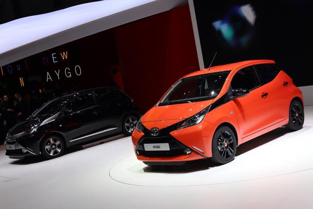 Женевский автосалон 2014: Toyota привезла новый Aygo и парочку ...