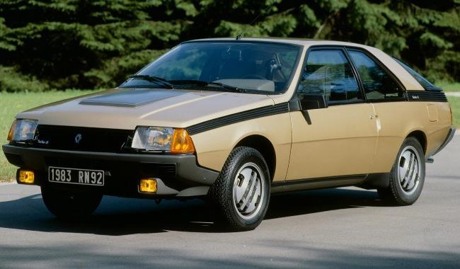 Renault Fuego из 80-ых возвращается