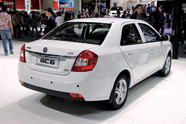 ,         Lifan Solano, Geely MK, Geely GC6, Chery IngS