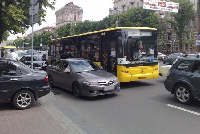 Ко Дню Киева в столице перекроют движение