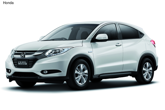 На японском рынке Honda HR-V продается под именем Vezel