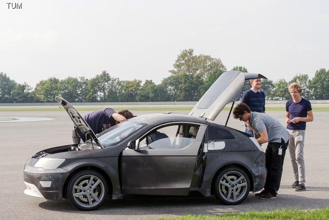 В Мюнхене создали интересный электромобиль Visio.M