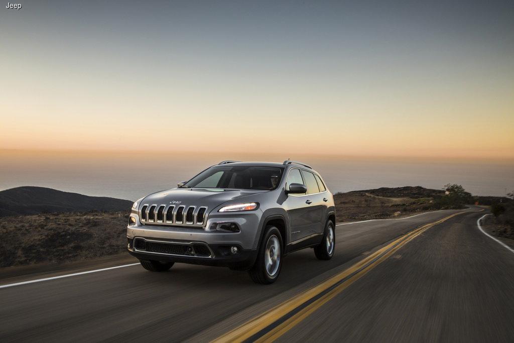 В Украину прибыл новый Jeep Cherokee