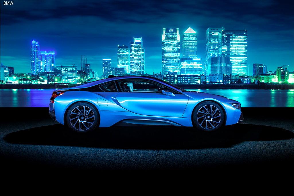 BMW i8 - «Автомобиль года» по версии Top Gear