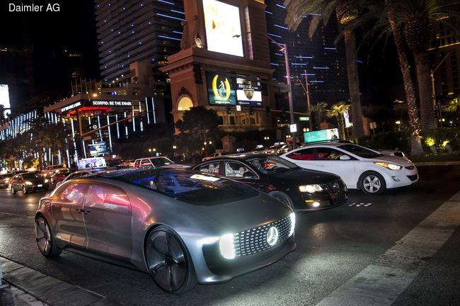 Mercedes-Benz показал в Лас-Вегасе концепт без водителя