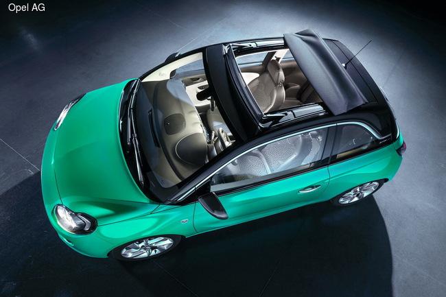 У Opel Adam «поехала крыша»