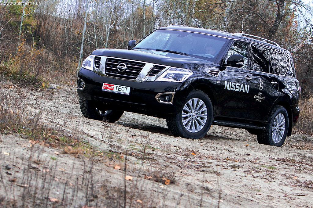 Тест-драйв Nissan Patrol: Легенда в смокинге
