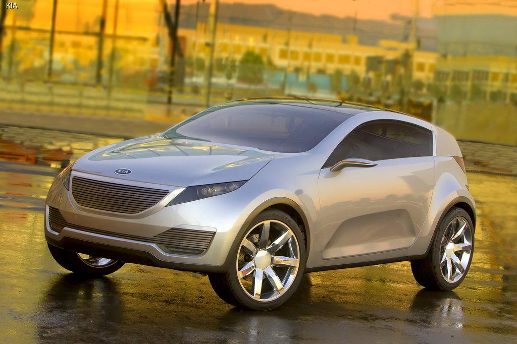 KIA везет на автосалон в Чикаго концепт новой машины для города