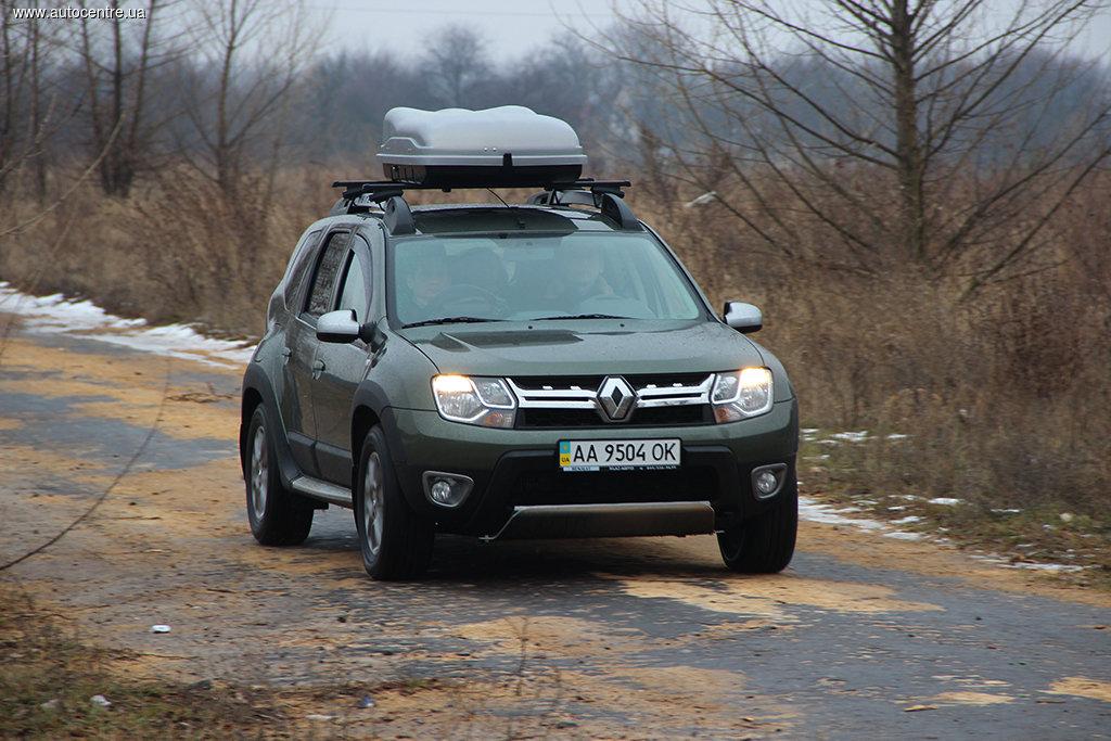 Тест-драйв Renault Duster: Очередной шаг вперед