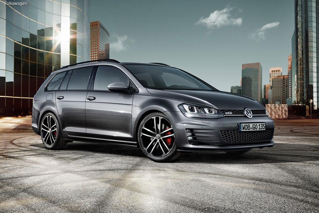 Женевский автосалон 2015: Volkswagen представит универсал Golf GTD Variant