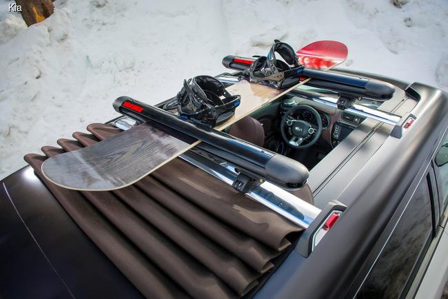 Kia Soul получил мягкую крышу и гибридный мотор