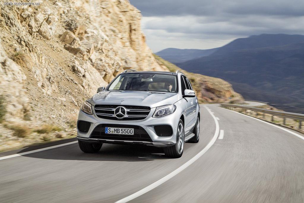 новая модель Mercedes GLE