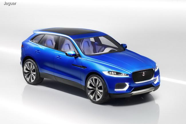Jaguar представит свой первый кроссовер во Франкфурте