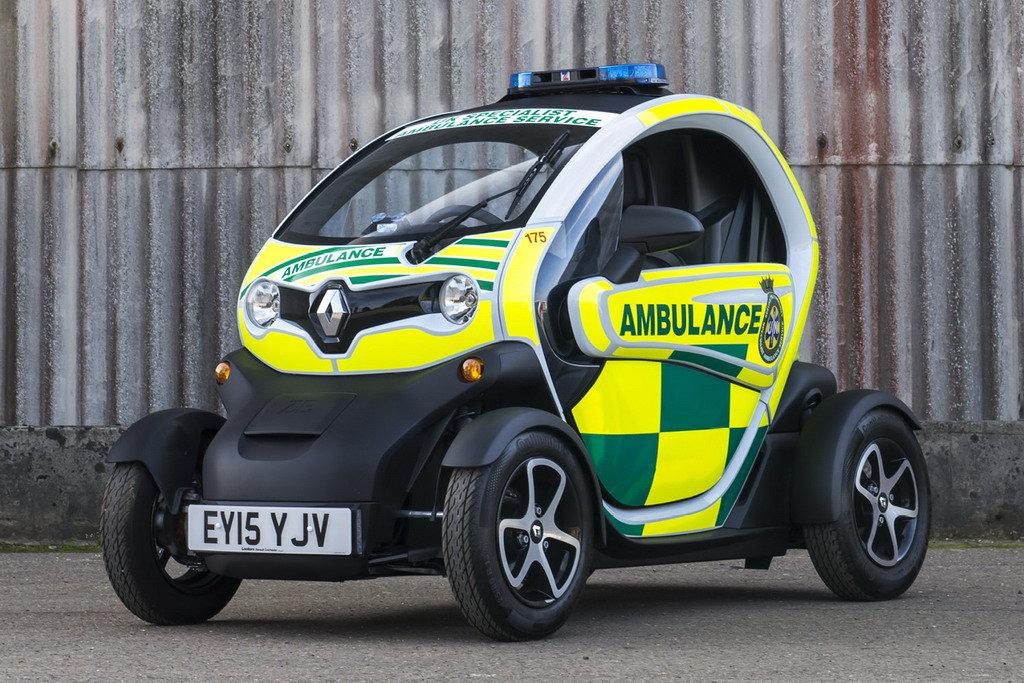 Renault показал самую маленькую «скорую»