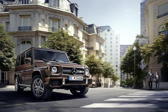 Mercedes-Benz презентовал обновленный G-Class