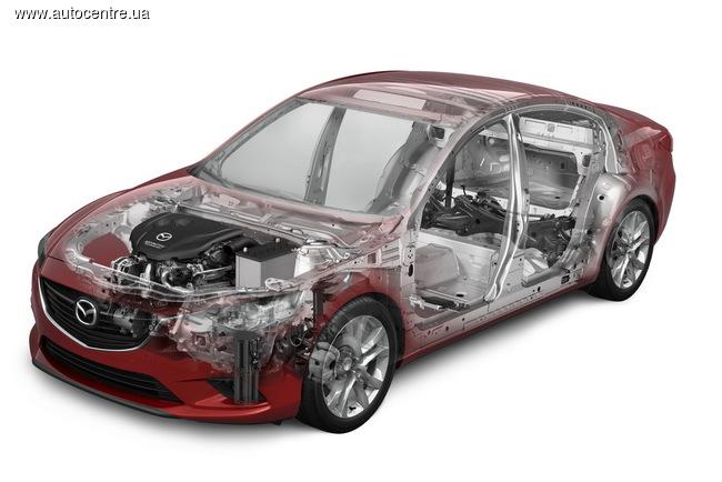 Обновленная Mazda6 2015