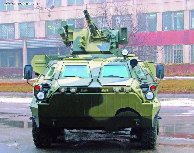 Тест-драйв БТР-4Е «Буцефал»