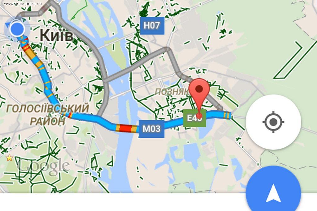 Навигатор Google Maps теперь еще полезнее для автомобилистов