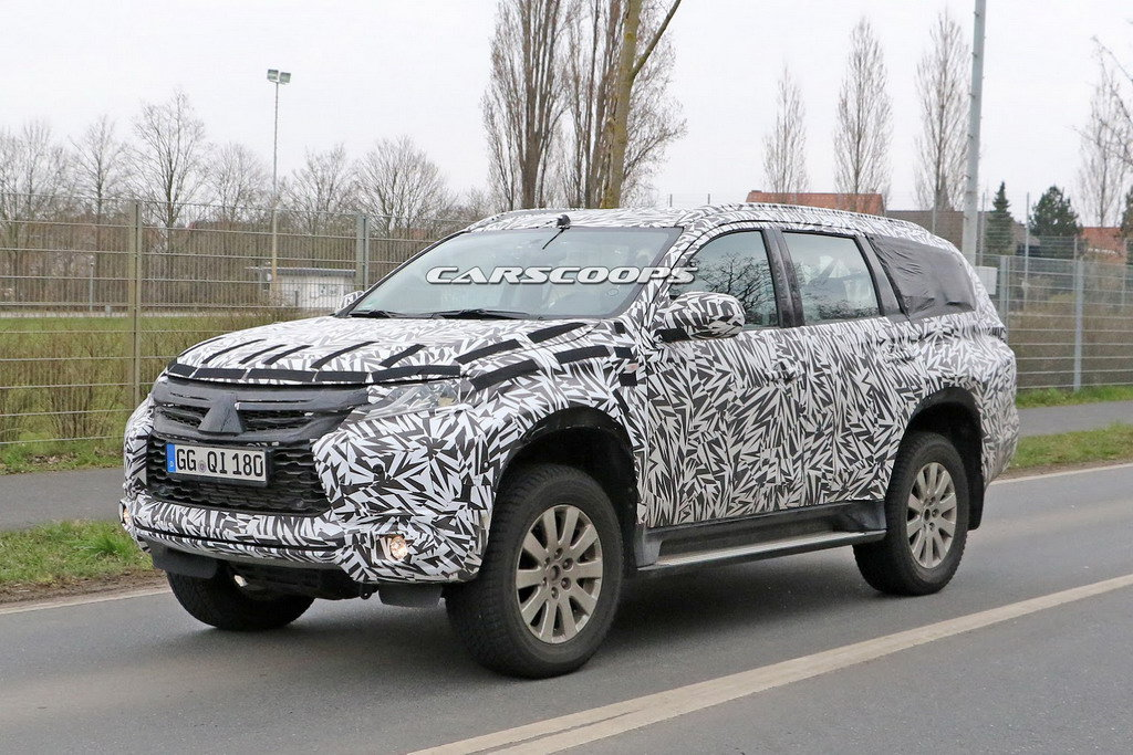 Новый Mitsubishi Pajero появится летом