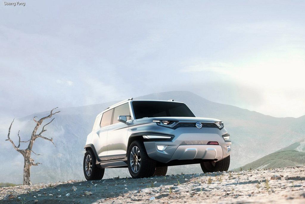 SsangYong готовит альтернативу Jeep Wrangler