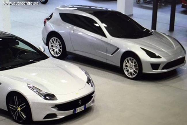 Ferrari FF мог стать первым кроссовером марки