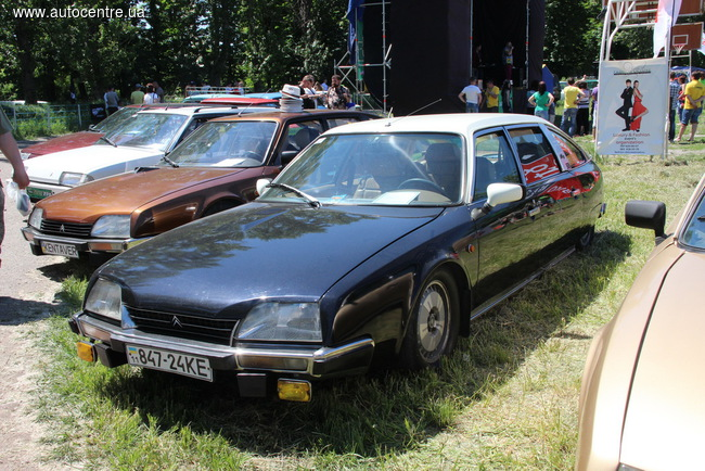 Citroen принял участие в ретрослете «ХаРС-2015»