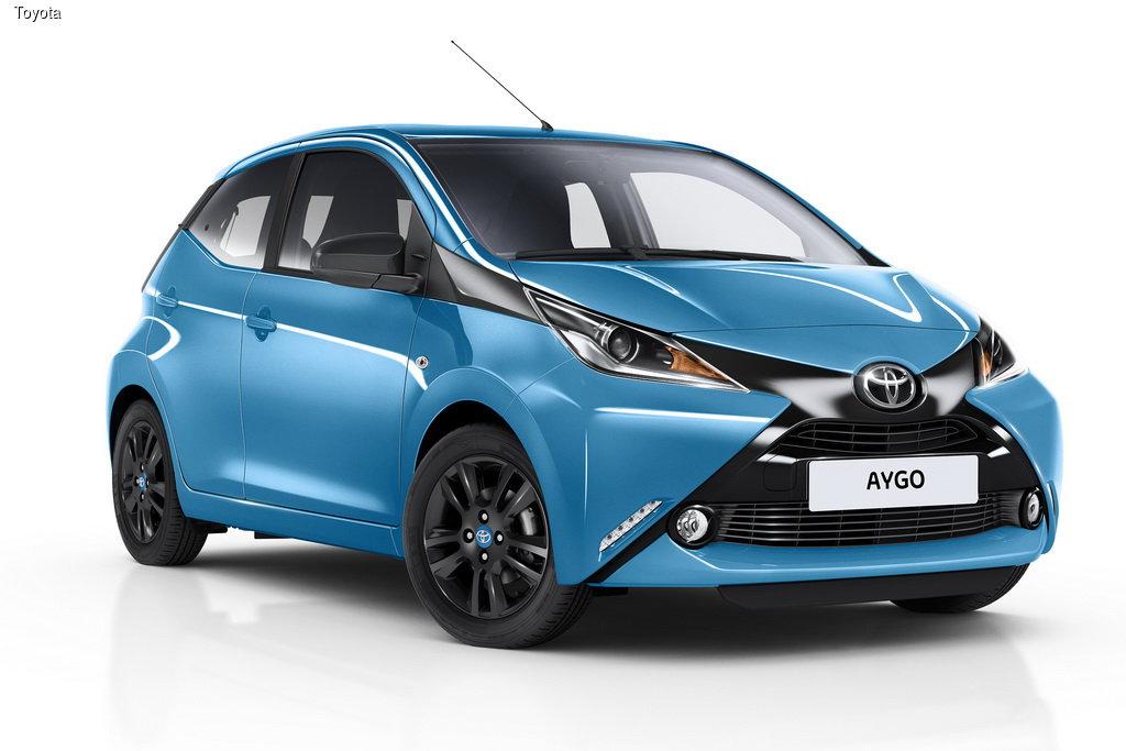 Toyota ������������ ������ x-cite � x-pure ��� Aygo