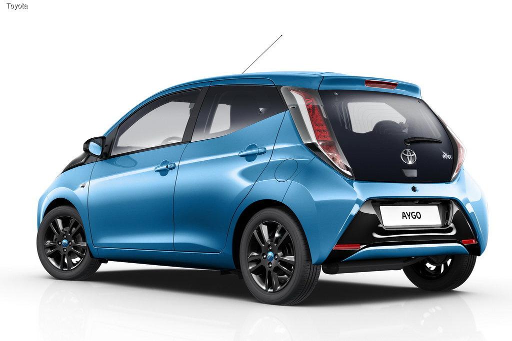 Toyota презентовала версии x-cite и x-pure для Aygo