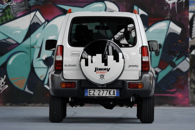 Suzuki представила оригинальную версию Jimny Street