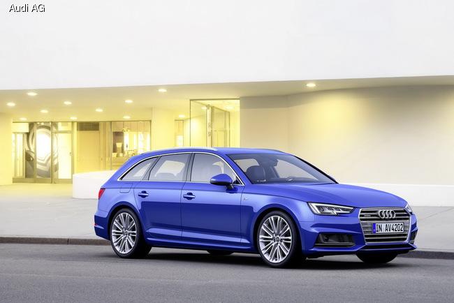 Audi A4 и Audi A4 Avant показали задолго до премьеры