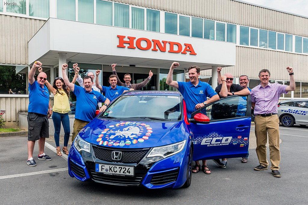 Honda установила рекорд Гиннесса за «Самый низкий расход топлива»