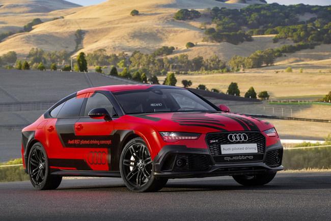 Новый спорткар-беспилотник от Audi уже на треке