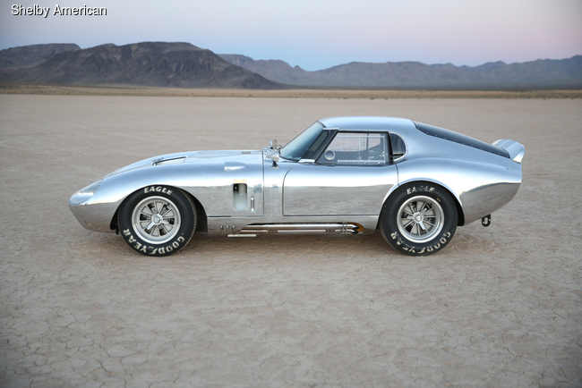 Shelby American возродит Cobra Daytona Coupe