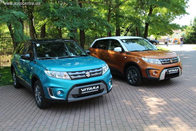 В Украине презентовали новый кроссовер Suzuki Vitara